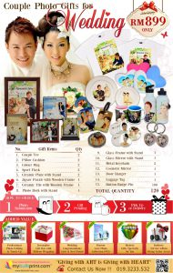 Wedding Photo Gift Ideas Malaysia